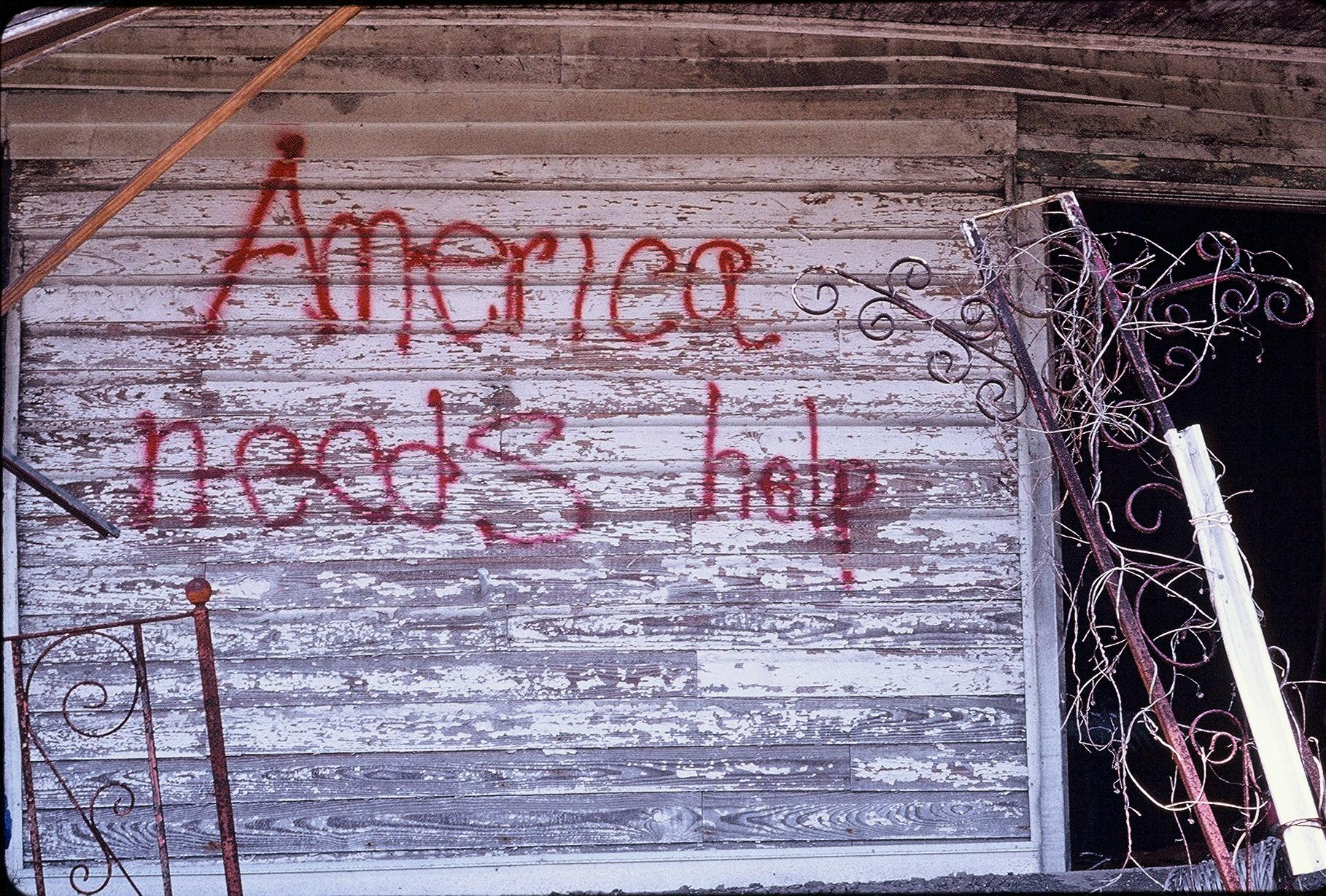 'New Orleans post-Katrina/'America needs help'