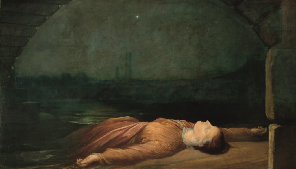 G F Watts Found Drowned c 1848-1850  Watts Gallery (2)