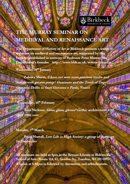 Murray Seminars poster