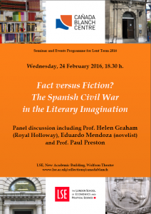 LSE Literary Festival Discussion