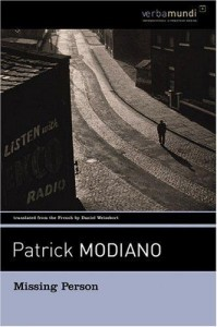 Modiano_Missing Person