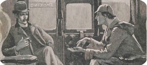 """""""The air of London is the sweeter for my presence."""" Sherlock Holmes in The Final Problem. ©Museum of London"""