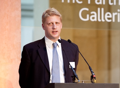 Jo_Johnson_at_British_Museum