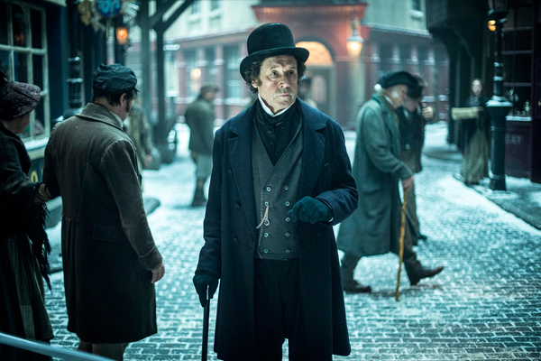 A scene from BBC drama Dickensian, featuring Stephen Rea in the role of Inspector Bucket (image copyright Premier)