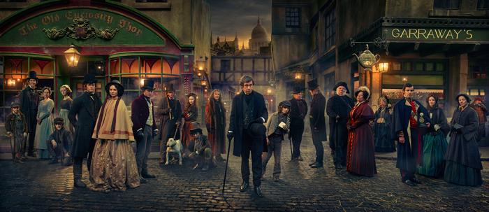 BBC drama Dickensian (image copyright Premier)