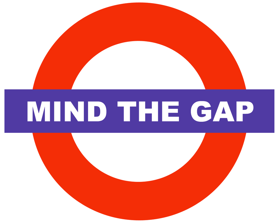 Mind The Gap Logo by rrward on DeviantArt