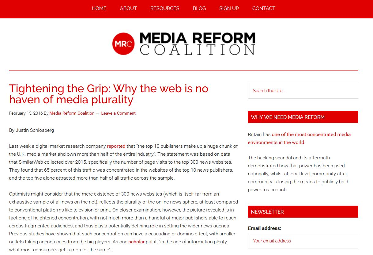 Read the original article on Media Reform Coalition