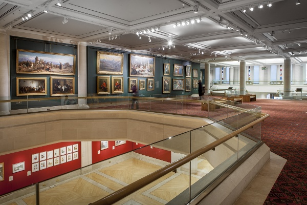 Inside Guildhall Art Gallery