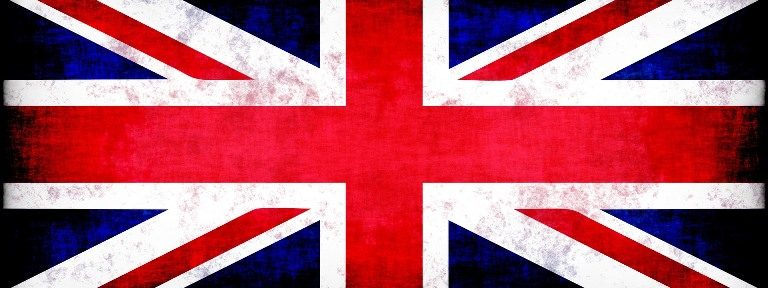 The Union Jack, the flag of the UK
