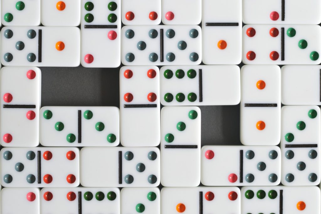 Picture of dominoes