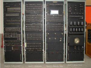 The BTM HEC1 Prototype in store at Birmingham Museum