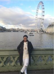 Nozipho at the London Eye
