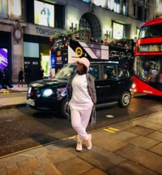 Nozipho London street Chrsitmas