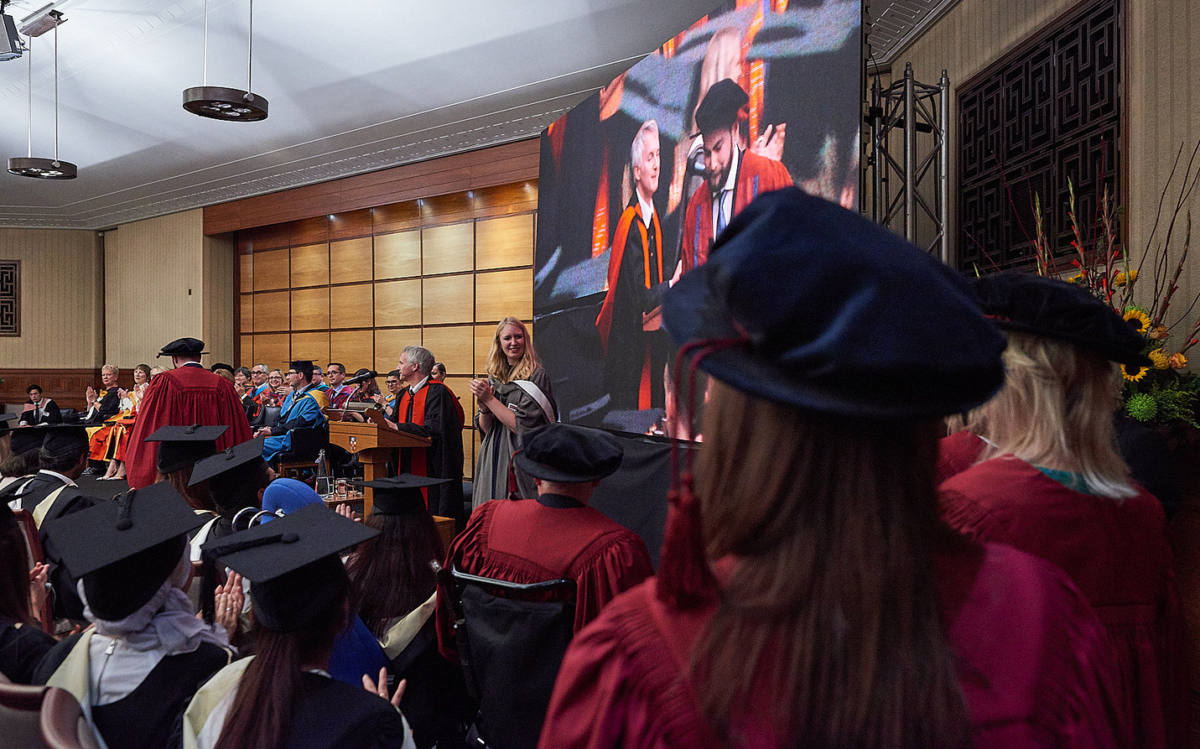 A Birkbeck graduation ceremony