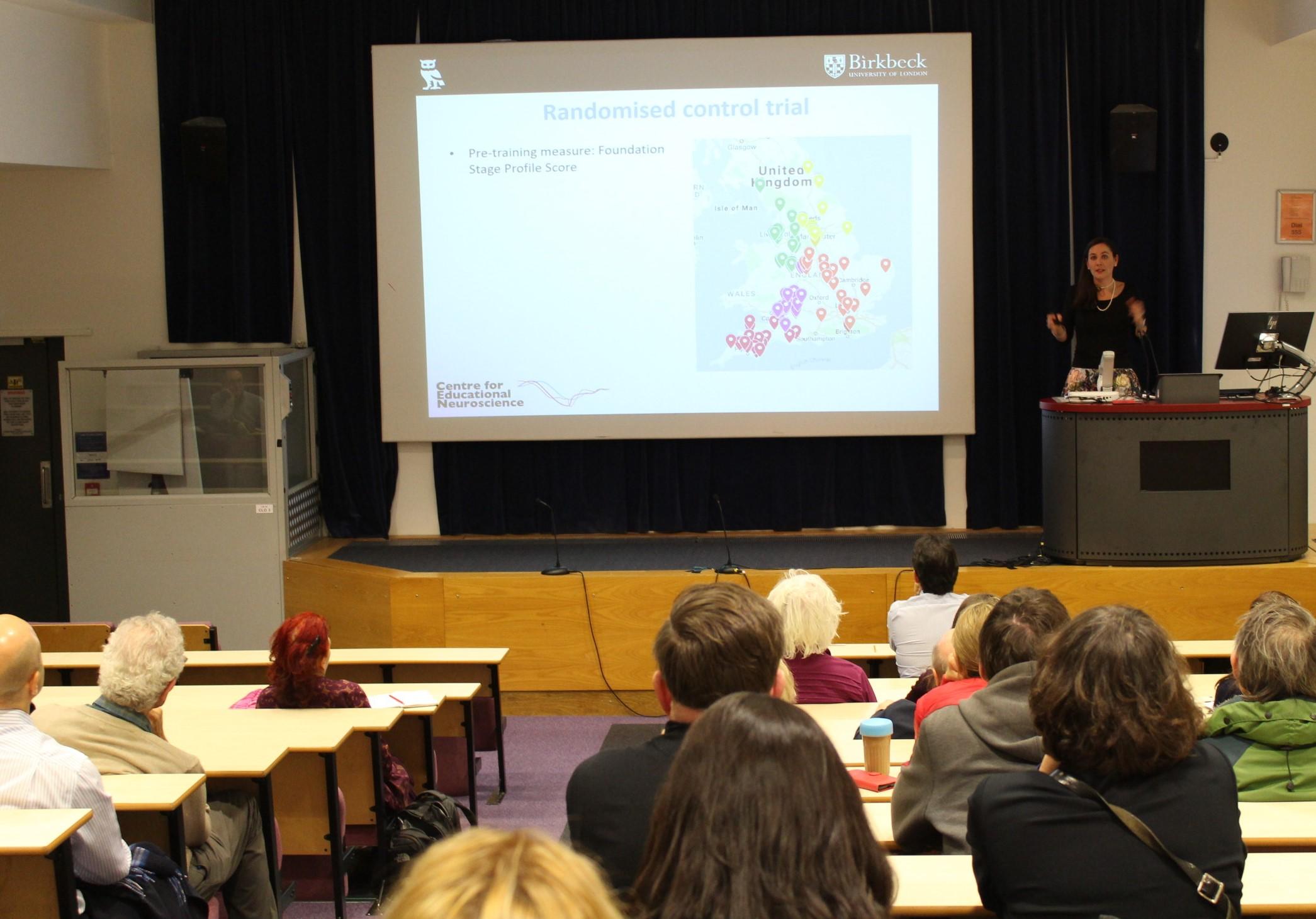 Dr Iroise Dumontheil's lecture