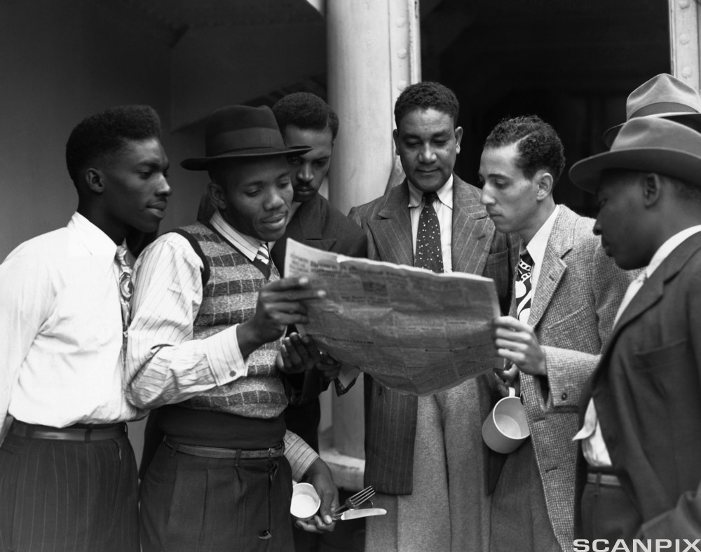 Jamaican Immigrants to Britain in 1948