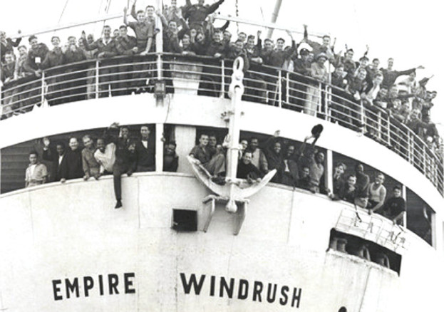 The Empire Windrush in 1947.