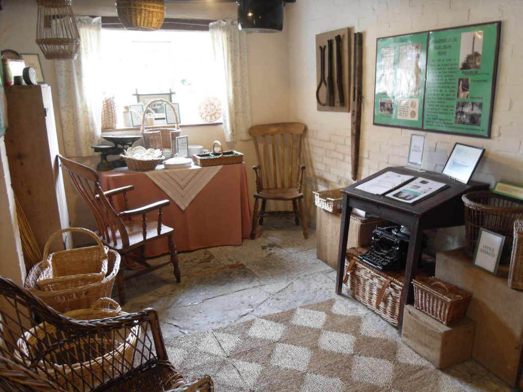 Basket Museum interior display
