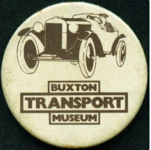 Buxton Transport Museum - badge