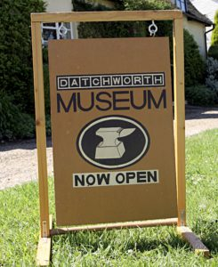 Datchworth Museum sign