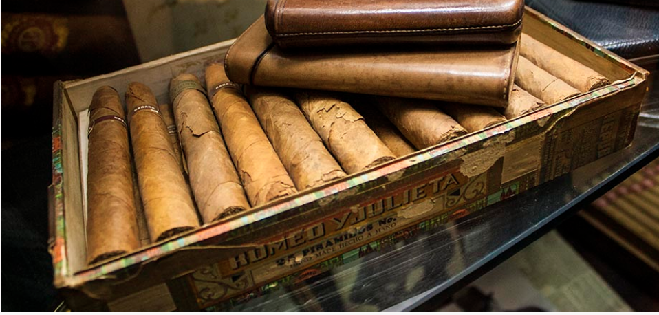 Winston Churchill's cigars at the Freddie Fox Museum