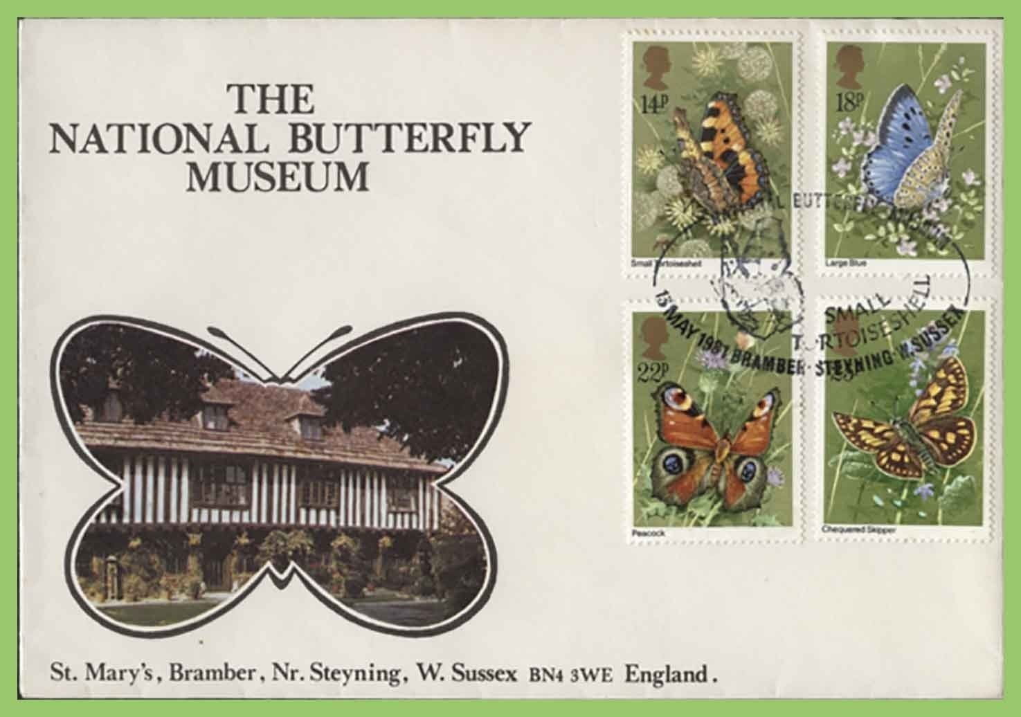 National Butterfly Museum postcard