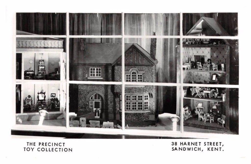 Sandwich Doll Museum, also known as The Precinct Toy Collection, Harnet Street, Sandwich, Kent