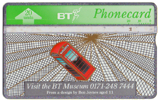telecom showcase bt phonecard