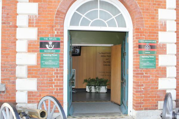 The Rifles Museum entrance