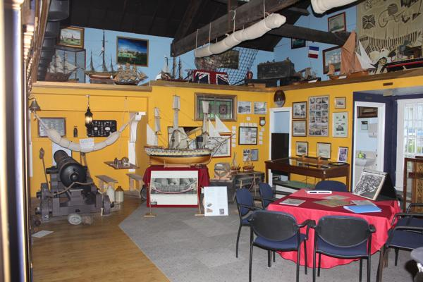 Inside Blue Town Heritage Centre