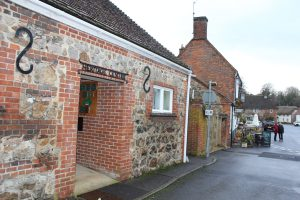Entrance to Aldbourne Heritage Centre.