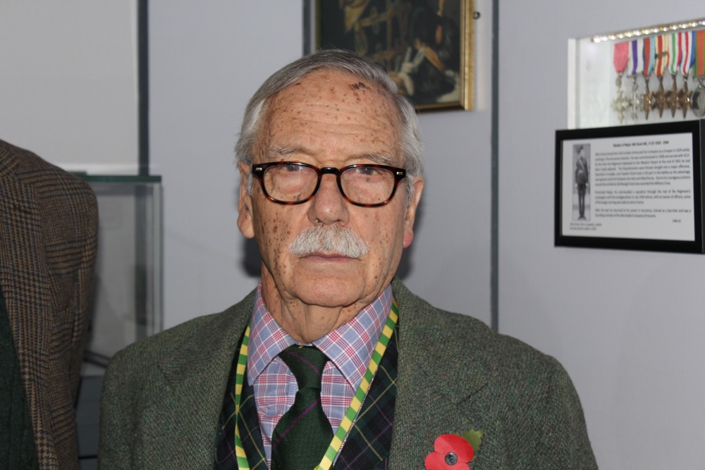 Guy Farage, co-founder of the Kent and Yeomanry Sharpshooters Museum