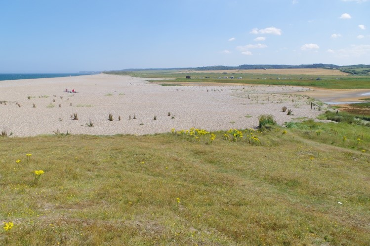 The Blakeney shoreline barrier