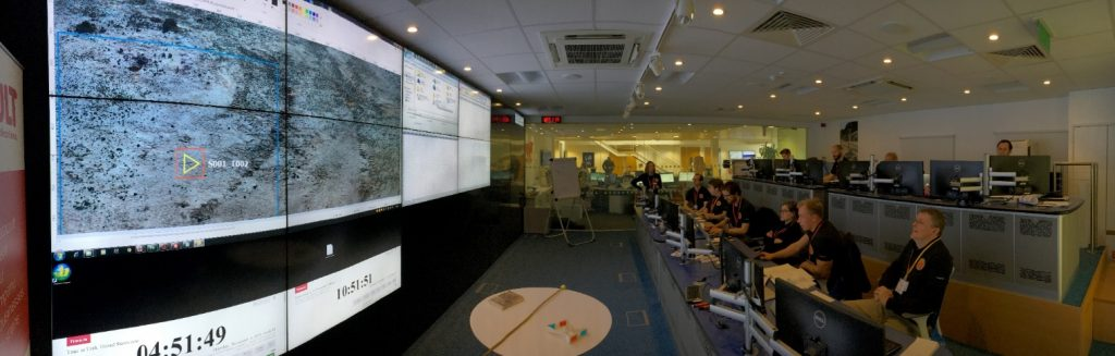 MURFI Mission Operations Centre in full swing (Image credit: Pete Grindrod)