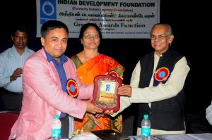 Guest of Honour at the IDF Grants and Awards Function, Chennai (India)