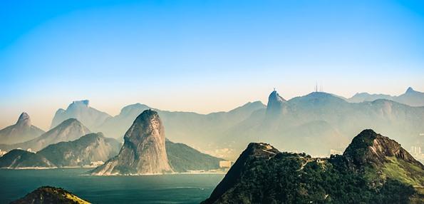 The beautiful coastline of Rio de Janeiro