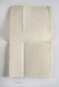 List of Books Printed for the Blind at the New England Institution, 1838. Boston Line type.
